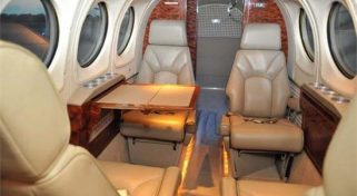 Charter a Beechcraft King Air 100