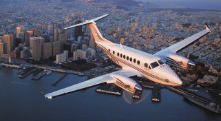 Arrange a Charter Flight with the Beechcraft King Air 200