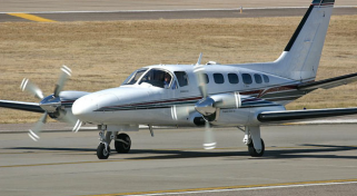 Turboprop Plane Charter - Cessna 441 Conquest