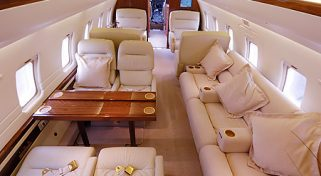 Arrange a Private Charter on the Challenger 604 Jet