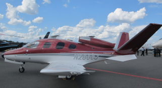 Cirrus Vision SF50 Light Jet Aircraft - Charter Flight Group