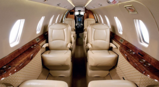 Chartered Citation X private Jet