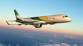 One Way and Empty Leg Embraer Lineage 1000 Jet Flights