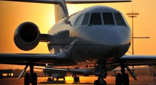 Falcon 20 Business Aircraft