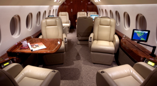 One Ways and Empty Leg Falcon 2000LX Jet