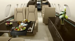 Private Plane Jet Global 5000 Charter