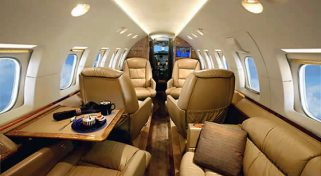 ARGUS Safety Rated Private Hawker 800 XP Jet