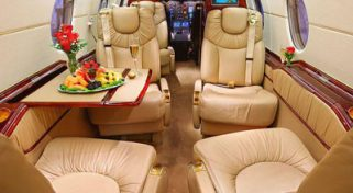 ARGUS Platinum Rated Hawker 400XP Jet
