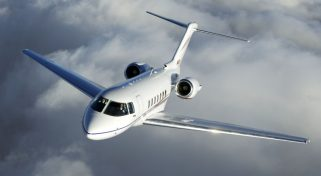 Hawker 750 Charter Flight