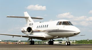 Charter a Private Jet Hawker 800XP