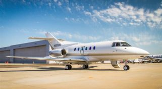 Arrange a Private Hawker 800A Jet Flight