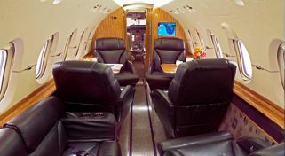Hawker 850XP Private Plane