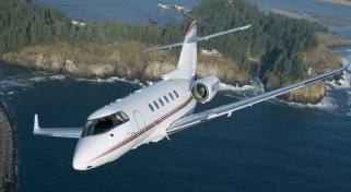 Business Flight Hawker 900XP Jet