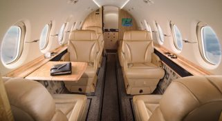 Air Charter Hawker 900XP Flight