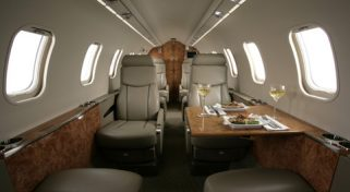 LearJet 45XR Aircraft Charter Flight
