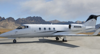 Business Charter Flights on the Lear 55