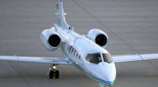 Private Business Jet Lear 31
