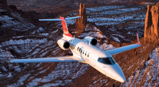 ARGUS safety Rated Lear 45XR Flight