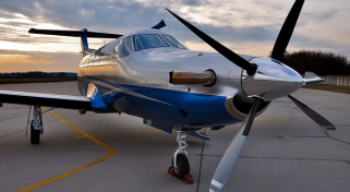 Business Air Charter Pilatus PC12 Turboprop