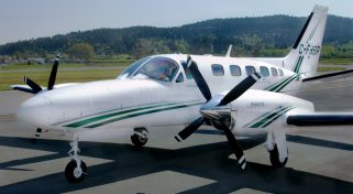 Charter a Cessna Conquest II Private Plane