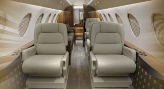 ARGUS Platinum Rated Falcon 50 Private Jet