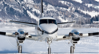 Charter a Flight on the Beechcraft King AIr 90 Turboprop