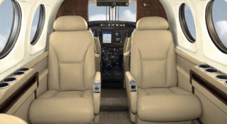 ARGUS Safety Rated Private Plane Beechcraft King AIr 90